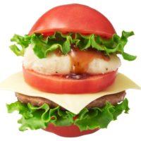 ダレトク!?発 トマトを丸ごと1個使用した「とま実バーガー」がモスに登場。