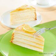 ドトールコーヒー、爽やかな口どけの「レモンのミルクレープ」など新作ケーキ3種を発売。