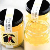 プリン専門店うっふぷりん、茨木市とコラボした弾ける食感の「うっふぷりん 次」を販売開始。