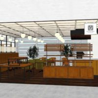 丸山珈琲が初の試み コーヒースタンドとフルサービスの2種を別フロアで展開 限定フードも販売。