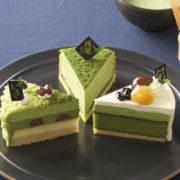"""コージーコーナー、""""八女・宇治・西尾""""の抹茶を使った新作ケーキが登場。"""