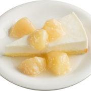 スシロー 初夏のサイドメニューにさっぱり「桃のチーズケーキ」が登場