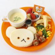 JSパンケーキ 『しろくまちゃんのほっとけーき』とのコラボプレートが限定で登場
