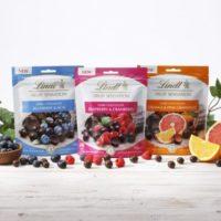 リンツ 初のスナックタイプチョコレート「センセーションフルーツ」3種を発売