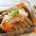 レンジ鶏チャーシューレシピ