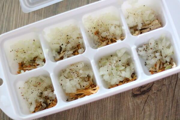 絶品濃厚トマトソースの作り方製氷皿の活用方法1